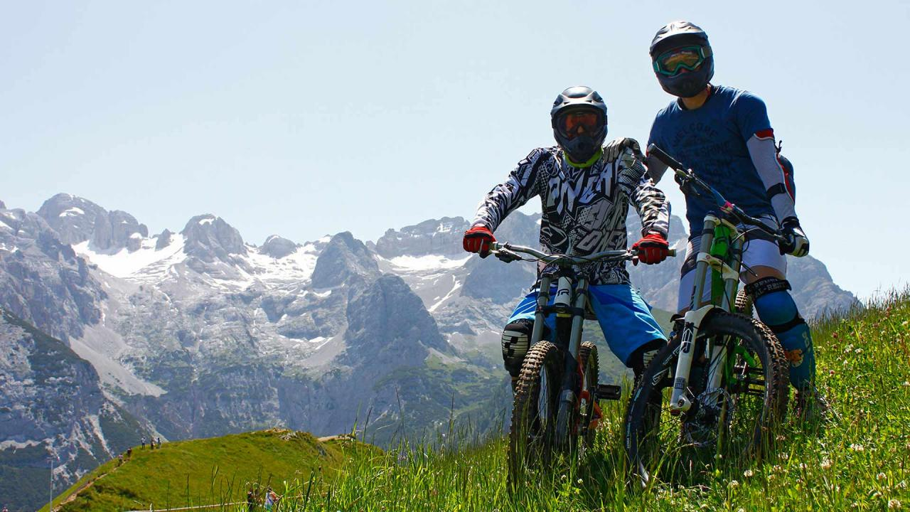Bike a Madonna di Campiglio Pinzolo Val Rendena