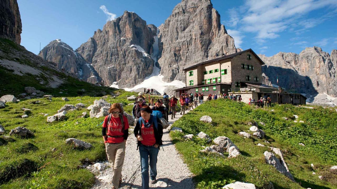 Escursioni e Trekking a Madonna di Campiglio Pinzolo Val Rendena